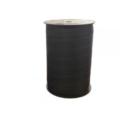 Fettuccia poliestere 100% mm 18 bianco/nero