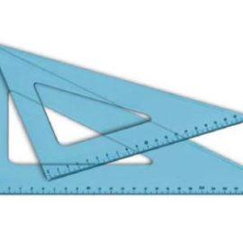 Squadra plexiglass